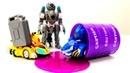 Мультики про машинки для детей — Игрушки Монкарт, трансформеры, ГОНКИ и Тачки — Ремонт Драка и Лео