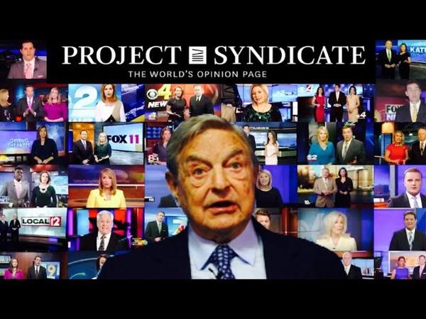 Project Syndicate Soros kontrolliert unsere Medien