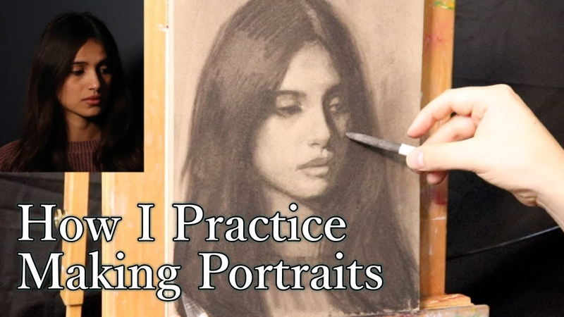 Portrait Drawing Tutorial | The Subtractive Method