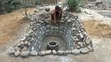 Примитивные технологии: Построить Пруд для разведения рыбы часть2 Каменная набережная!