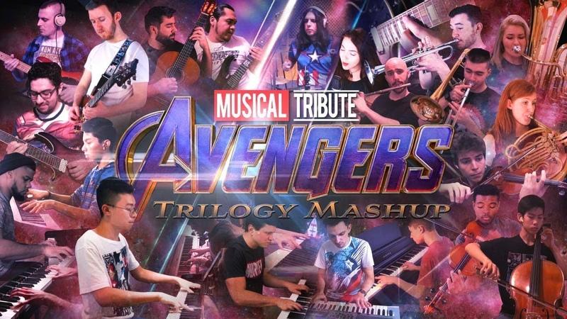 Avengers Trilogy Mashup Endgame Musical Tribute(Epic Marvel Cover) ft. 26 Marvel Musician Artists