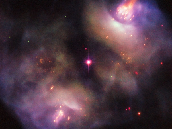 «Хаббл» заснял умирающую звезду