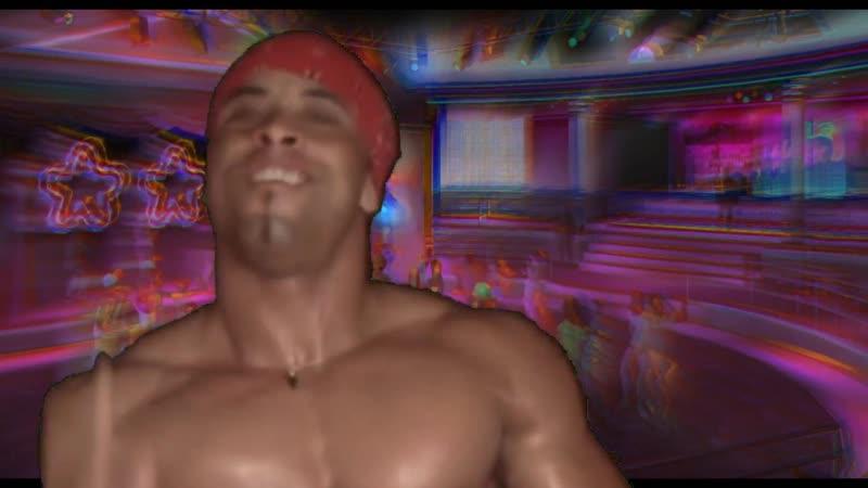 Рикардо Милос в Vice City! Приехал пофлексить в клубе Malibu танцует дивляя флексом всех посетителей. Томми Версетти офигел.