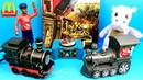 2018 McDONALD'S JIM KNOPF JIM BUTTON MOVIE HAPPY MEAL TOYS HOLIDAY EXPRESS TRAIN FULL SET 6 KID EURO