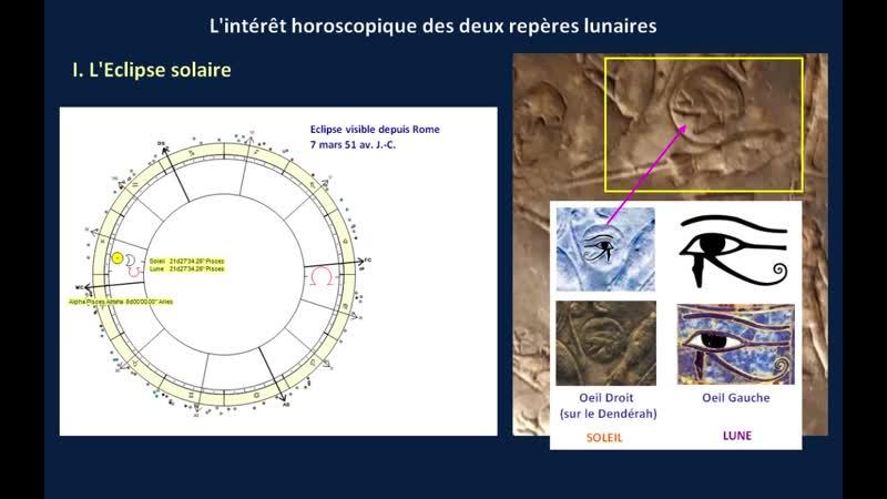 Le Zodiaque de Dendérah - Un horoscope romain d'aspect pharaonique exposé au Musée du Louvre