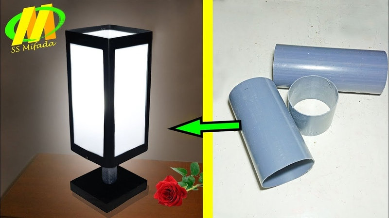 Lampu Hias (lampu tidur dari pvc)