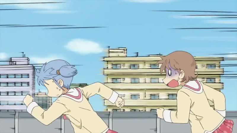 25 серия Мелочи Жизни Nichijou Ancord