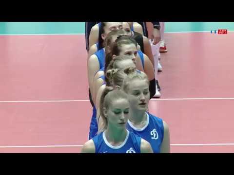 Волейбол ЧР женщины 5-й тур Динамо Метар vs Заречье Одинцово