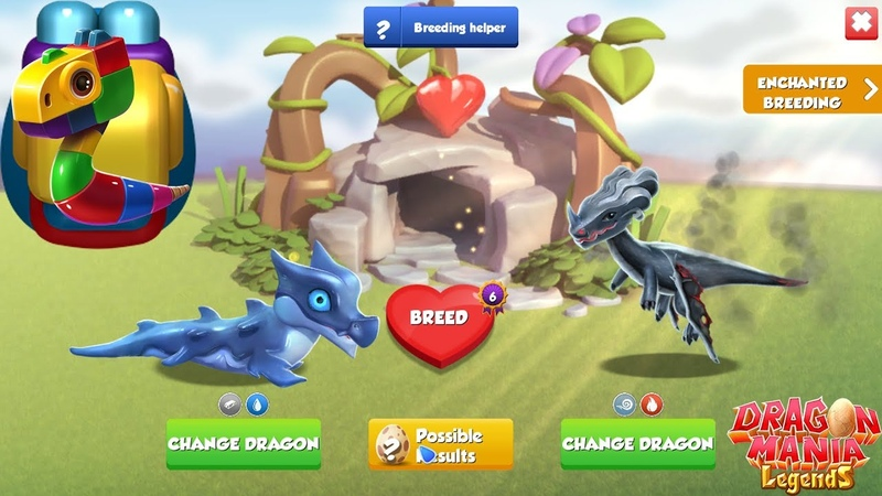How to breed Block Dragon Dice Dragon Hatching Dragon Mania Legends Part 1370 HD