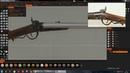 Карабин Галлагера. Моделирование в 3D Coat. ч1. Gallager carbine. Modeling in 3D Coat.