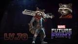 LV70 Rocket Raccoon EndGame Marvel Future Fight