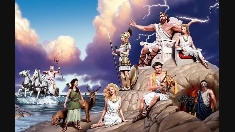 Древнегреческие Боги представители Атлантиды