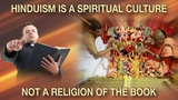 Hinduism not a 'religion of the book'