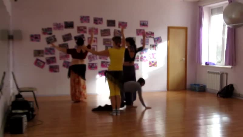 Репетиция выступления, где могут быть маленькие дети - трайбл Орион - 2015