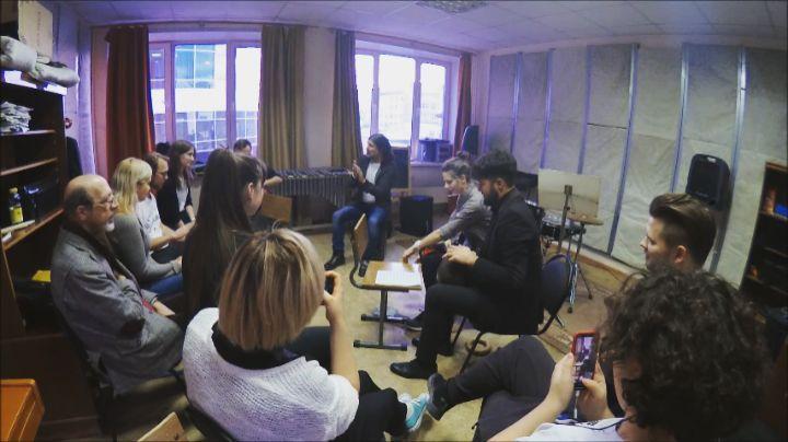 """Tono Alcalde on Instagram: """"TANGOZANDO en Ekaterinburgo como broche final a mi master class de compás flamenco y otros ritmos. El evento fue en el..."""