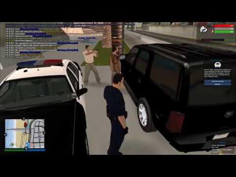 Типичные полицейские будни на Aurora RP. Часть 4. Теракт в больнице ЛС и мощный анти-чит.