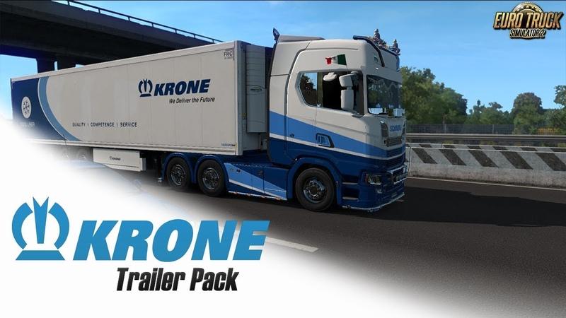 Euro Truck Simulator 2 DLC Krone Trailer Pack