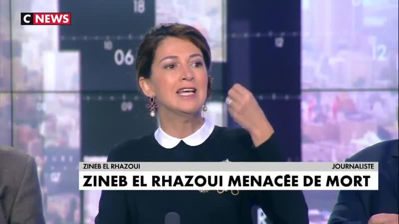 Zineb El Rhazoui à propos des menaces de mort