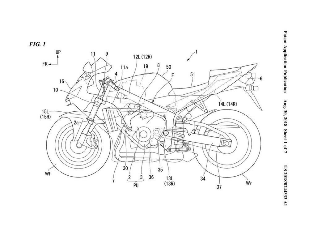 Компания Honda разрабатывает рамы, укрепленные карбоны