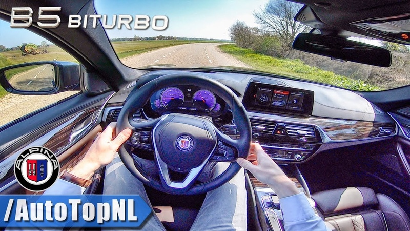 608HP ALPINA B5 BiTurbo Touring 4.4 V8 POV Test Drive by AutoTopNL