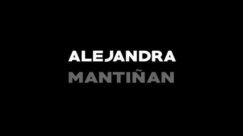 ALEJANDRA MANTIÑAN Tengo una pregunta para vos (por Pepa Palazón) with ENGLISH subtitles.