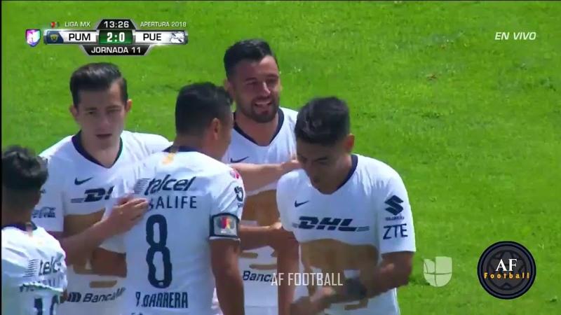 Pumas vs Puebla 2-2 Resumen y Goles Jornada 11 Apertura 2018 LIGA MX HD