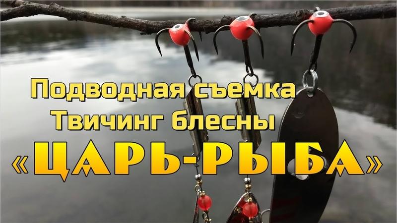 👍👍👍 Уловистые блесны для трофейной рыбалки Царь Рыба