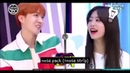 IOI and BTS moments interactions