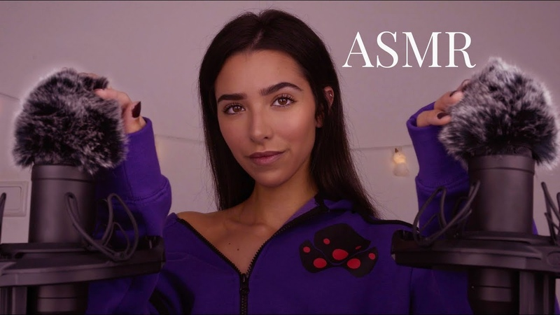 ASMR Scratching Your Fluffy Ears Trying Different Mic Covers