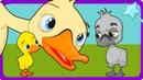 Гадкий утёнок сказка для детей анимация и мультик