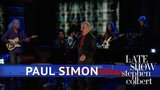 Paul Simon - One Man's Ceiling Is Another Man's Floor (The Late Show with Stephen Colbert)