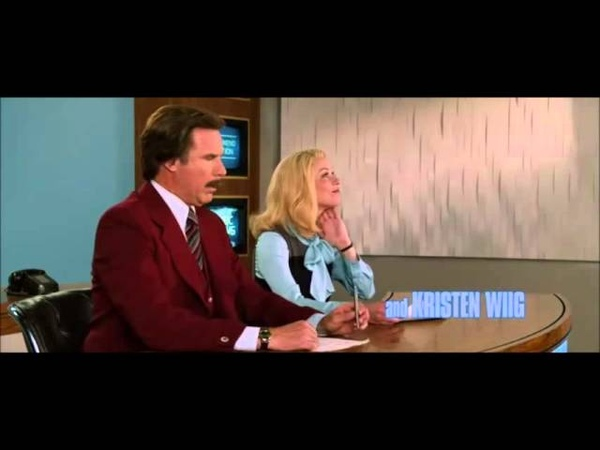 Ron Burgundy vocal warm up (terrified woman version)