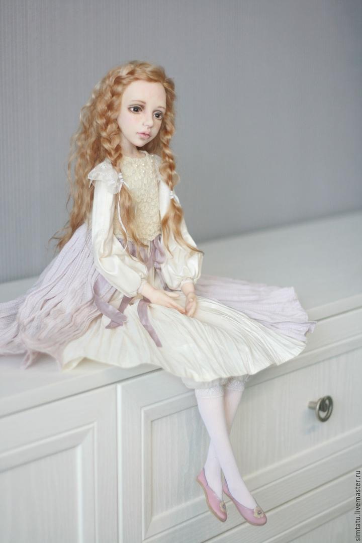 Авторские куколки от Татьяны Симуковой .