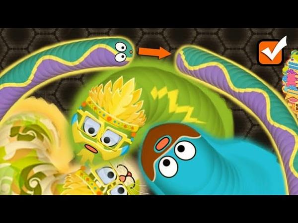 Wormate.io - Tiny Wormateio Love Selfie With 1000 Plus Pro Snakes - Wormate IO Free Online Game