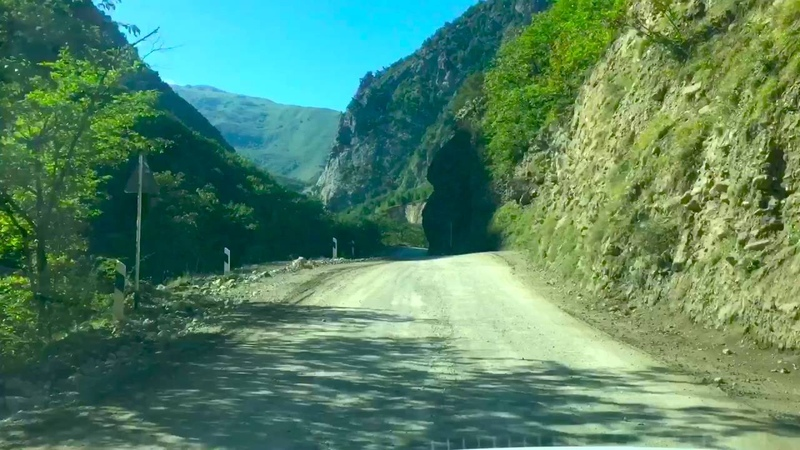 Поездка в Цой Педе(город мертвых),Галанчожский район,Чеченская Республика