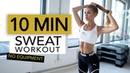 10 MIN CALORIE BURN Full Body Sweat for Fat Burning No Equipment Pamela Rf