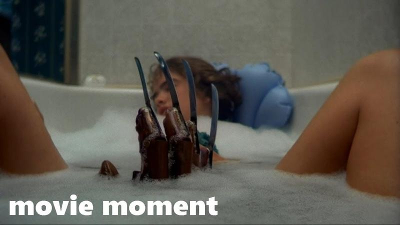 Кошмар на улице Вязов (1984) - В ванной с Фредди (3/10) | movie moment