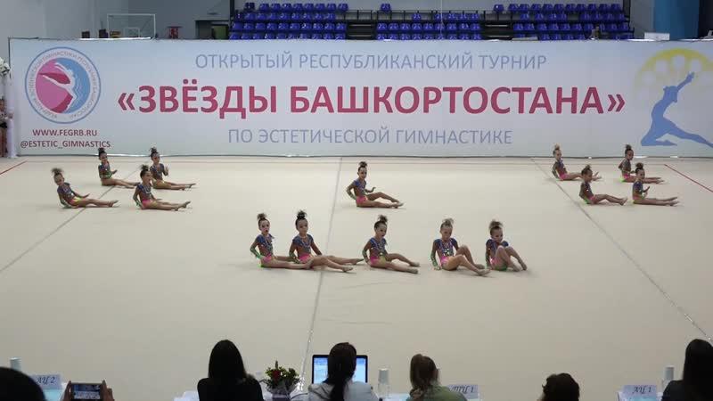 Видео отчет Звезды Башкортостана по эстетической гимнастике 21 10 2018