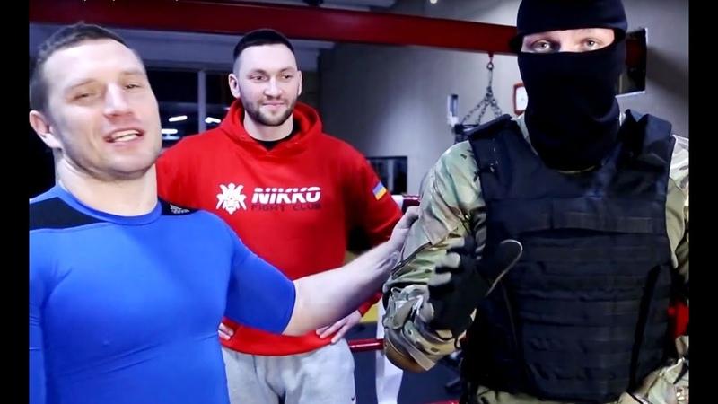 Инструктор Спецназа Шторм Нарвался на Борца