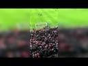 Slavia Prague fans clash with stewards at Parken Stadium