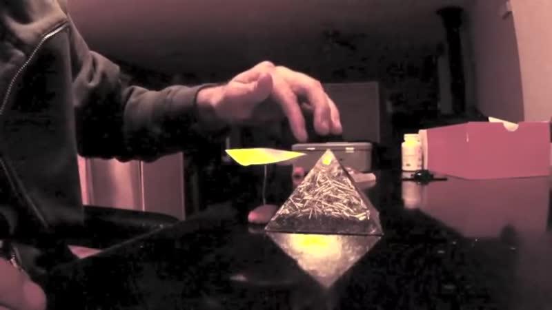 Telekinesis with Orgone Energy Pyramid