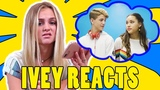 Ivey Reacts Little Bit (MattyBRaps ft Haschak Sisters)
