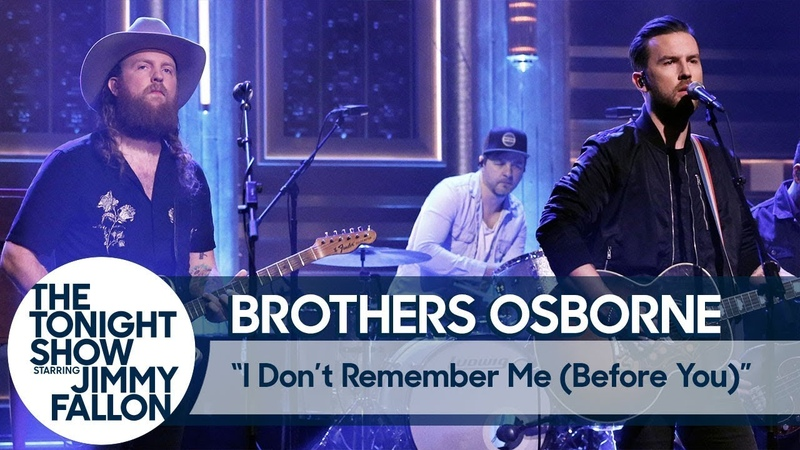 Brothers Osborne - I Don't Remember Me (Before You) Tonight Show