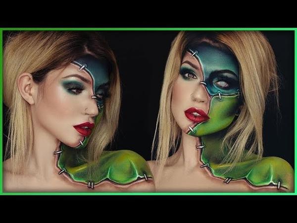 Frankenstein Halloween Inspired Body Paint | Djarii MUA