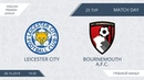 Leicester City 2:1 Bournemouth A.F.C., 25 тур (Англия)
