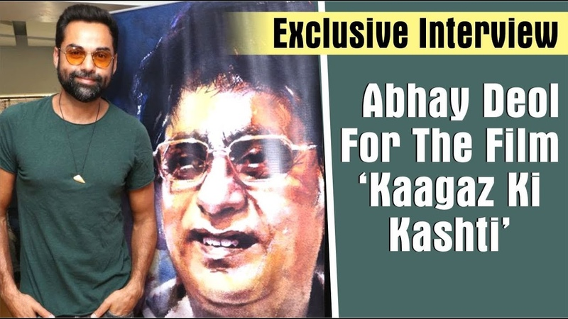 Abhay Deols Exclusive Interview On Jagjit Singhs Kaagaz Ki Kashti