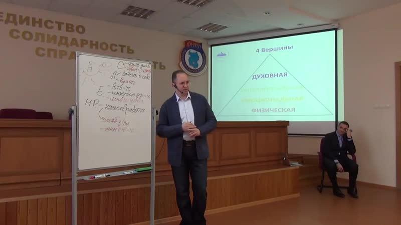 Онлайн школа 4 вершины Личная сила основа счастья Омск 2017 часть 2