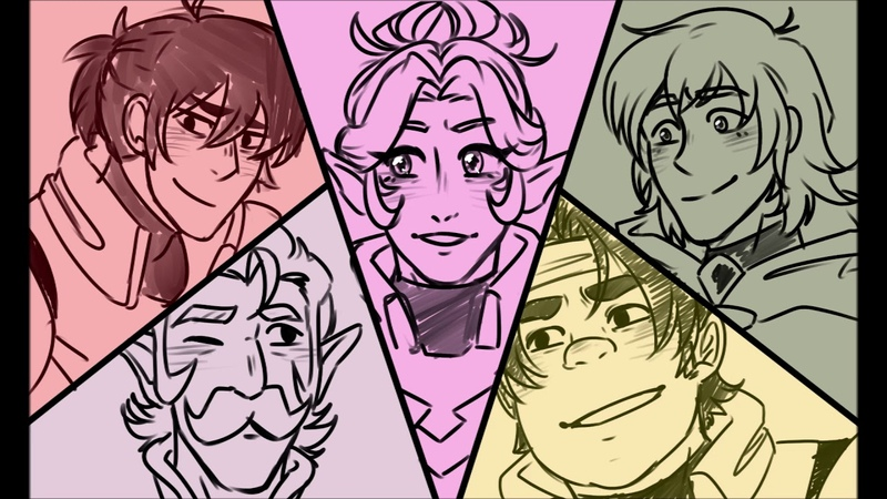 Everyone Is Gay - Voltron Legendary Defender (SHORT ANIMATIC)