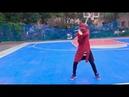 Dancing: Fluorescent Paint Splatter