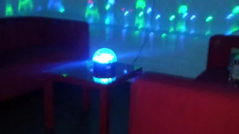 Светодиодный диско шар LED CRYSTAL MAGIC BALL LIGHT